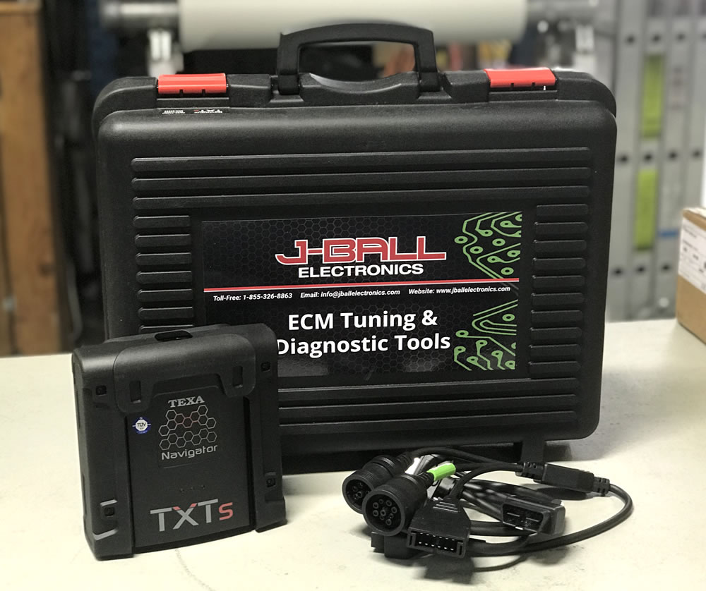 TEXA Truck Diagnostic Kit Installed on your computer