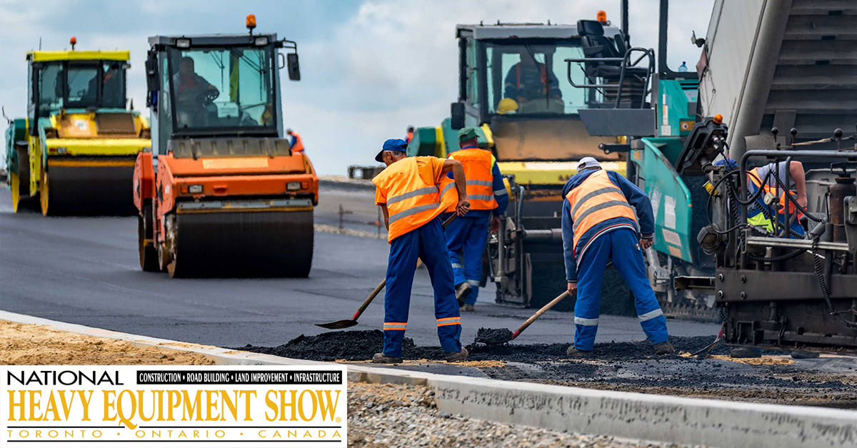 National Heavy Equipment Show - March 28-29, 2018 in Toronto ON - Mississauga International Centre