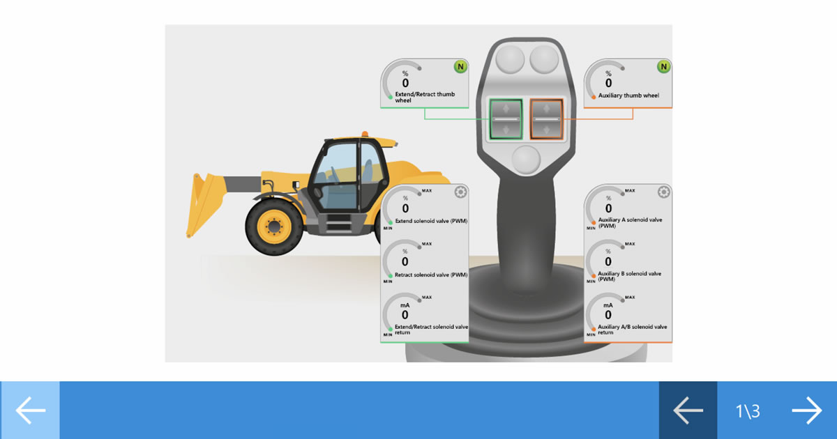 TEXA Off-Highway version 19.0 includes new features for telehandlers and forklifts.