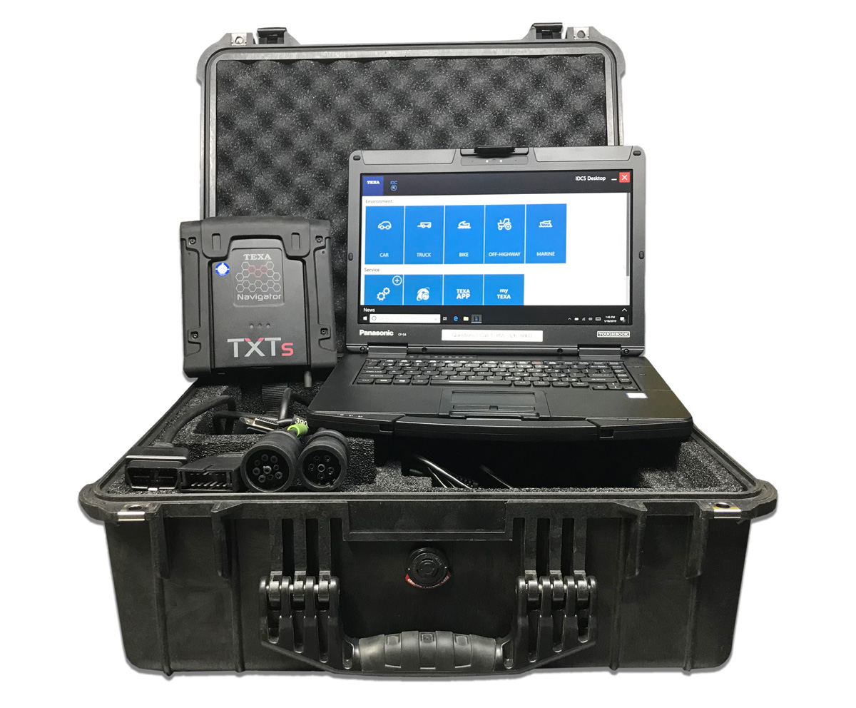 TEXA Diagnostic Software with Panasonic Rugged Toughbook