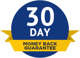 30 Day Money Back Guarantee on TEXA purchases.
