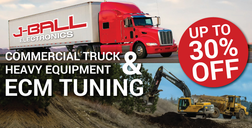 Save up to 30% on ECM Tuning for Commercial Truck and Heavy Equipment