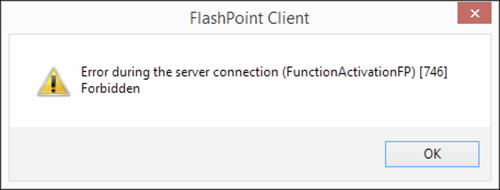 Critical Update January 31, 2020 - FlashPoint Connection Error