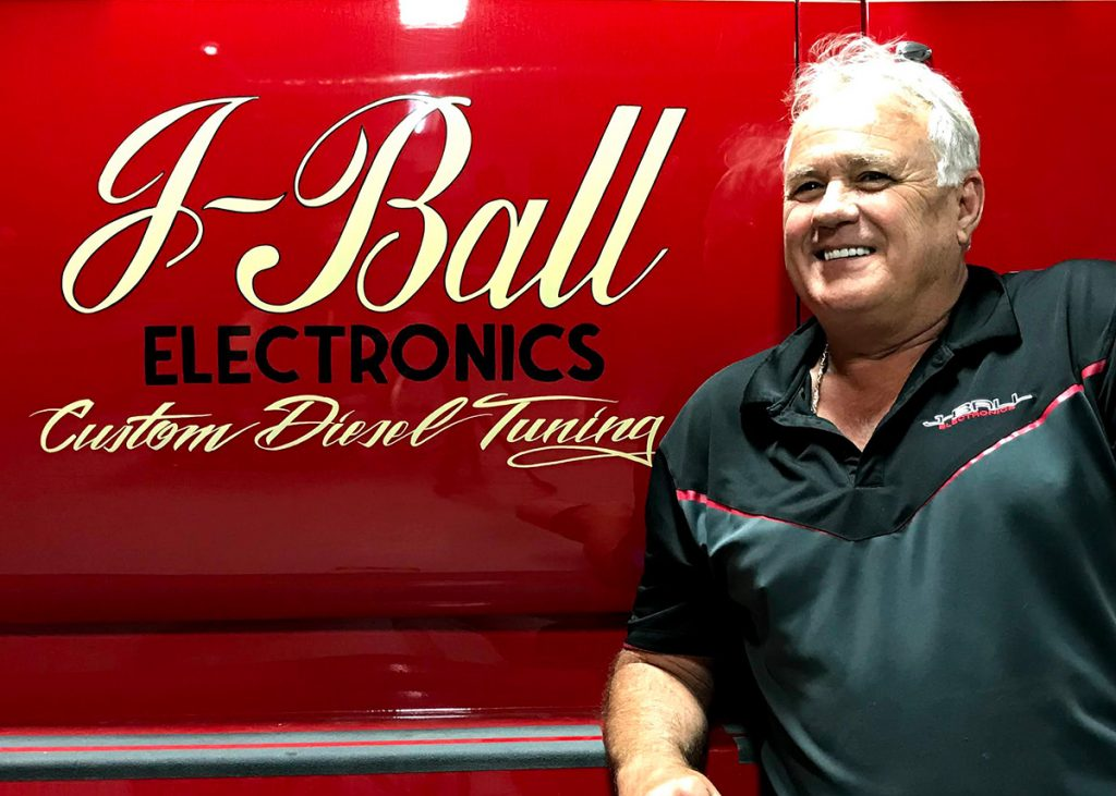 Don Jenner President of J-Ball Electronics ECM Tuning and Diagnostic Tools